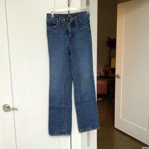 BDG Claudia High Rise Straight Leg Jean